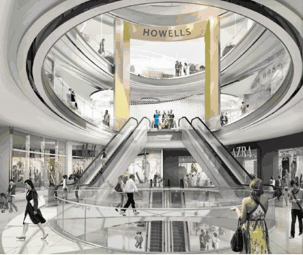 Rideau Centre - Rendering by Cadillac Fairview.