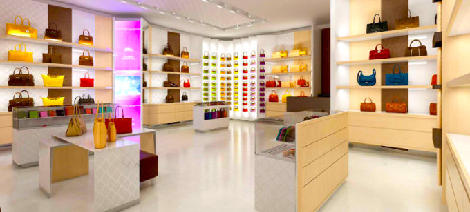 Longchamp store. Photo: Longchamp.