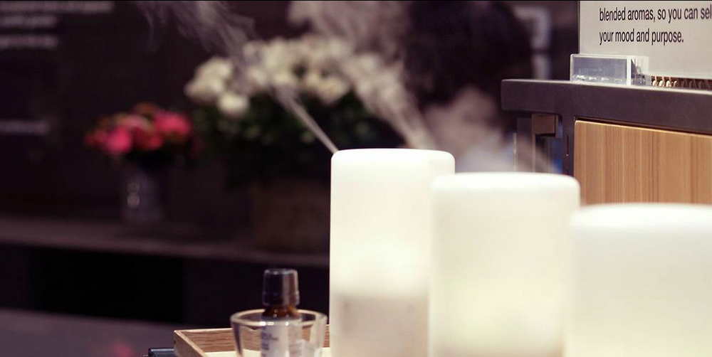 MUJI's famous aroma diffuser. Photo: RETAIL ASSEMBLY