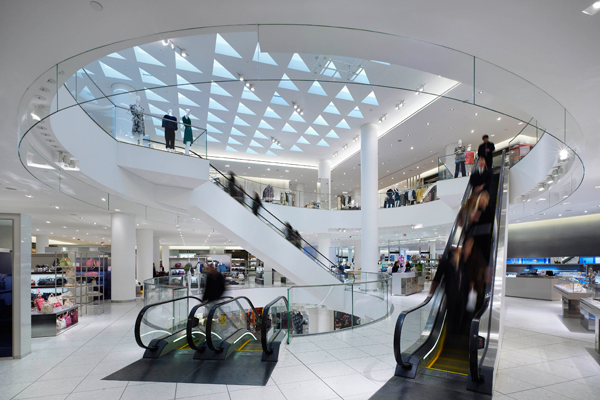 Inside Holt Renfrew's Vancouver flagship. Photo: enroute.aircanada.com