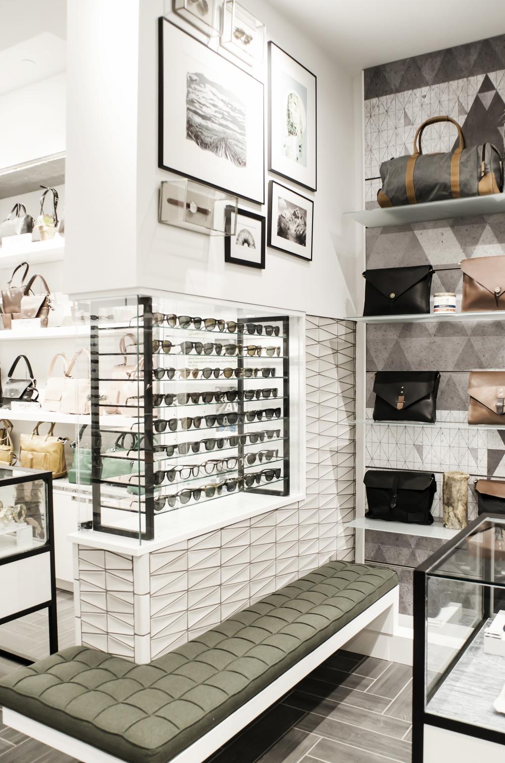 Spareparts custom merchandising displays by Cutler