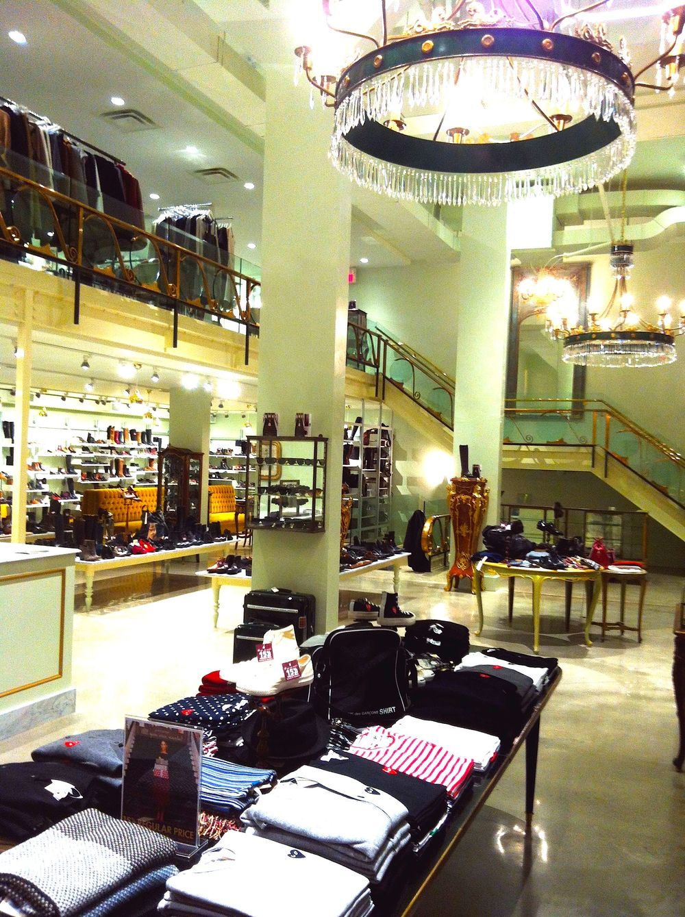 Inside the Toronto store.