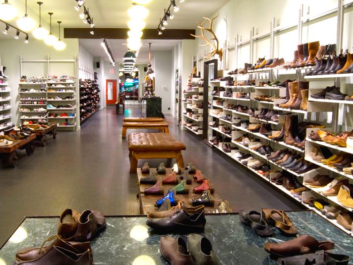 Inside Edmonton's footwear flagship.