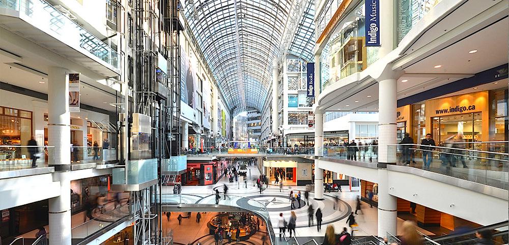 Toronto Eaton Centre, via Nordstrom.ca