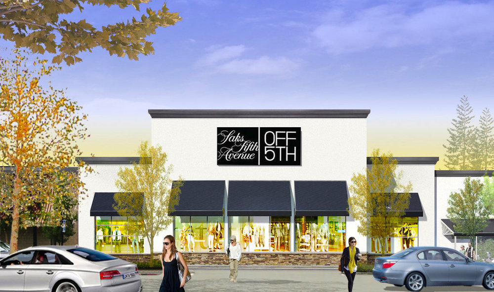 Rendering: Saks Fifth Avenue.
