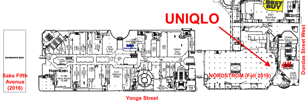 Toronto Eaton Centre lease plan. Click image for full PDF.