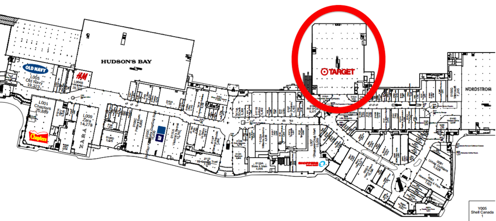 Chinook Centre. Click image above for PDF mall lease plan.