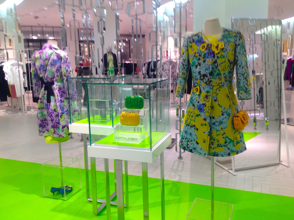 Staff in Hudson's Bay's luxury womenswear department 'The Room' say that it will move to the west side of the third floor to make room for Saks. Photo: Craig Patterson.