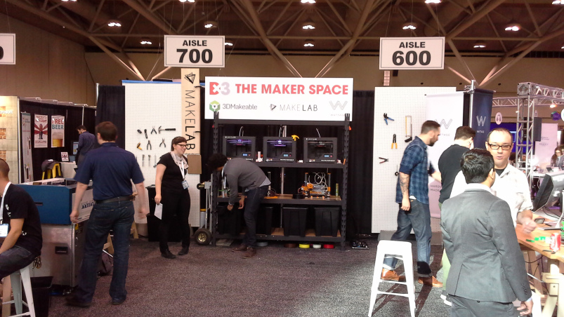 The Maker Space at Dx3 – includes 3DMakeable