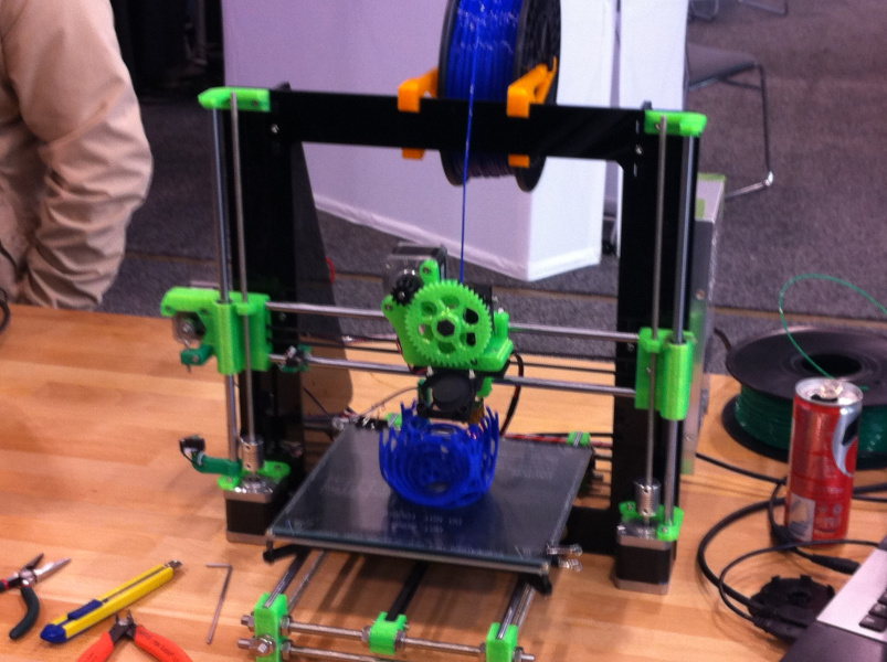An example of a DIY 3D printer