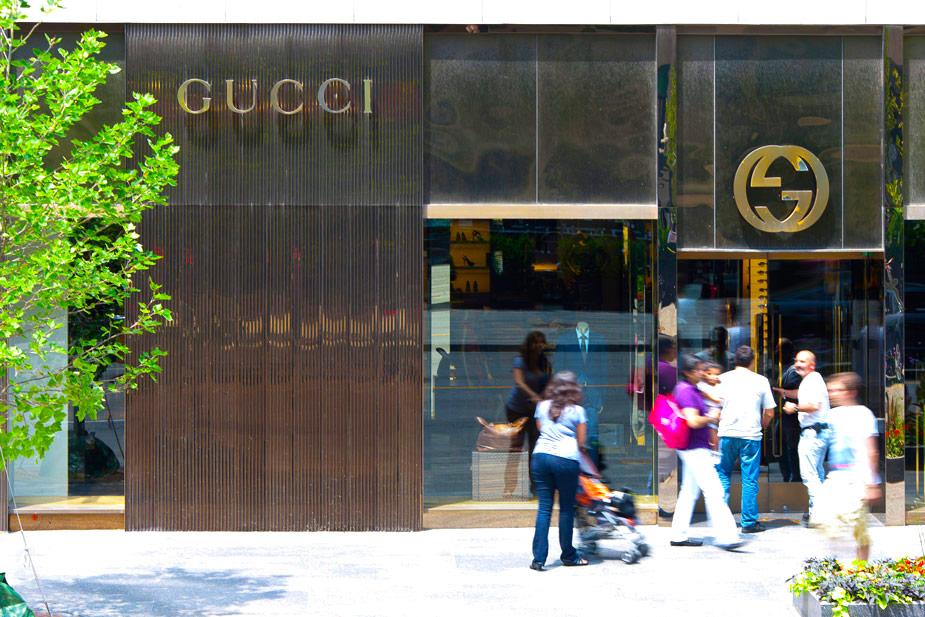 Gucci, Bloor Street, Toronto.Photo:bloor-yorkville.com