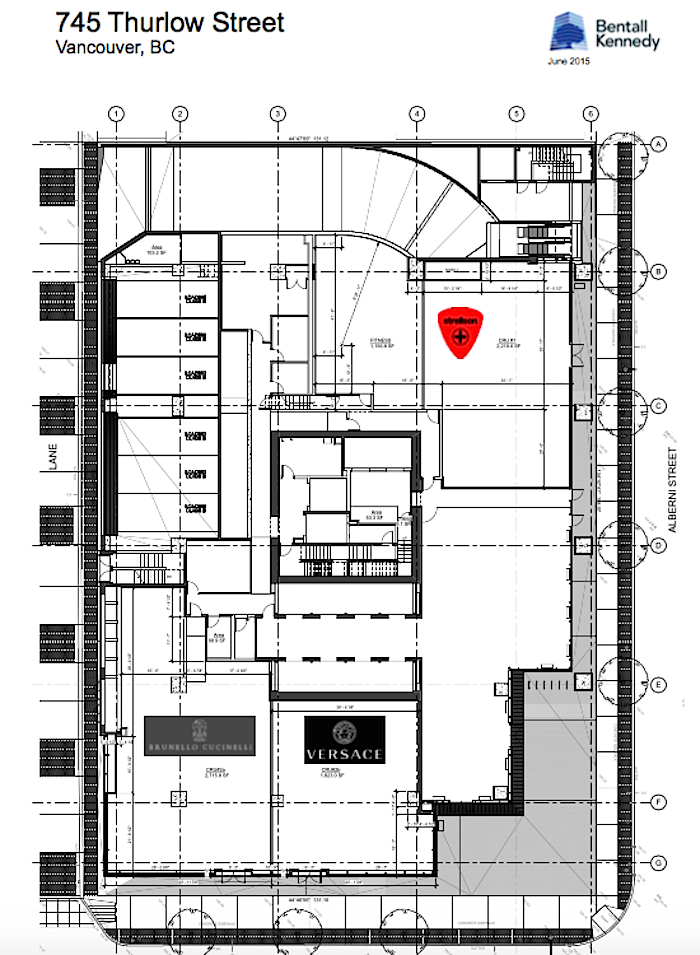 Lease Plan: Bentall Kennedy