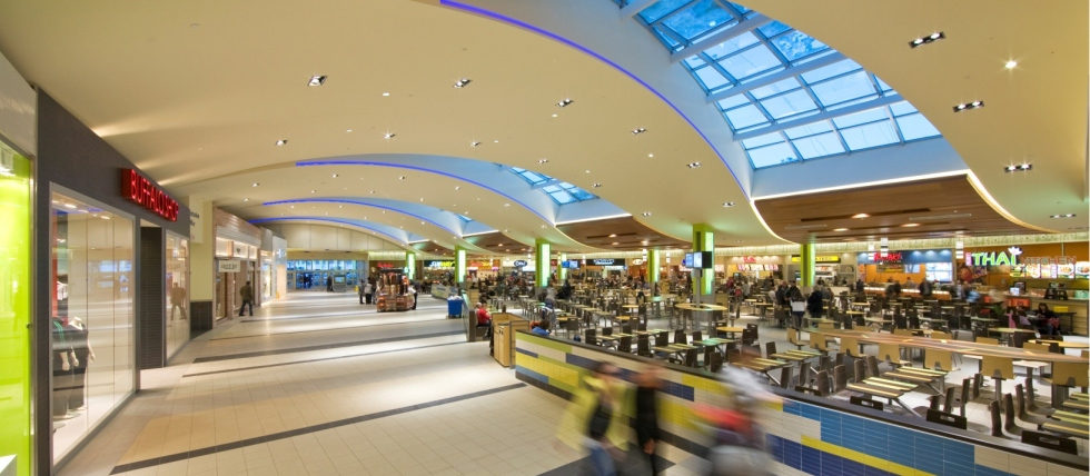 Upper Canada Mall, Newmarket, ON. Photo: Oxford Properties.