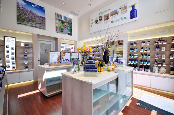 Inside the Calgary store. Photo: www.nealsyardremedies.ca