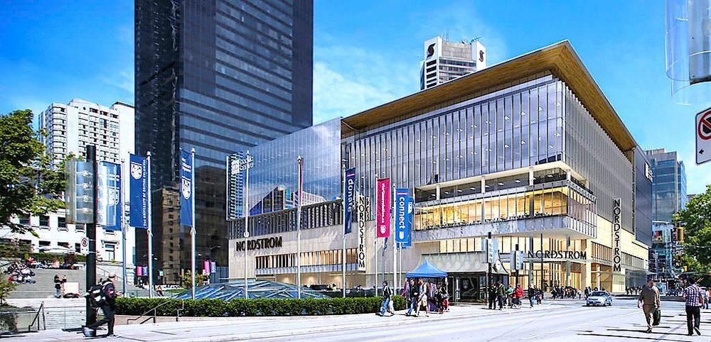 Vancouver rendering: Nordstrom