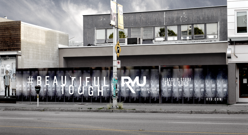 Vancouver flagship under construction. Photo: RYU
