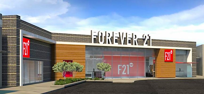 Rendering: Forever 21