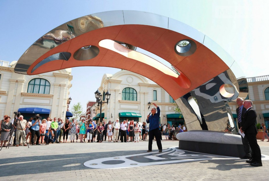'Whale' sculpture. Photo: McArthurGlen Group