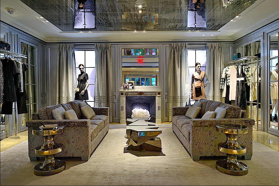 Second-floor salon. Photo: Christian Dior