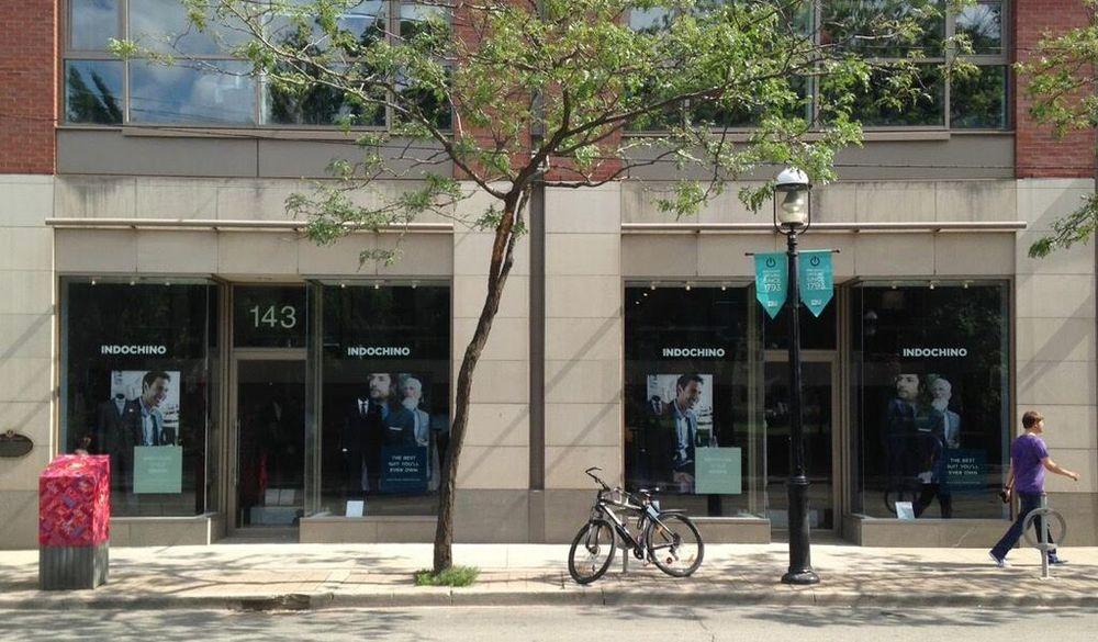 Toronto Store.Photo: Indochino