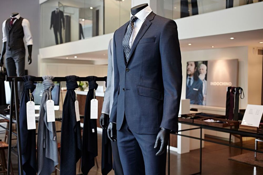 Toronto Store. Photo: Indochino