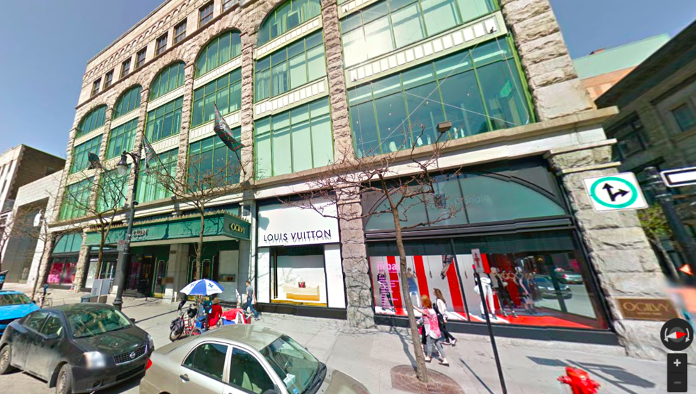 Ogilvy, Montreal. Photo: Google Street View screen capture