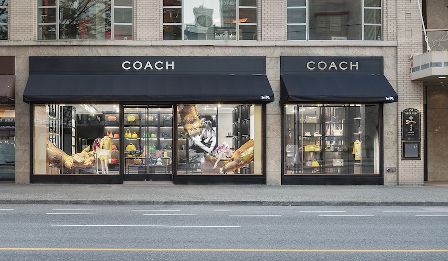 Burrard Street location. Photo: Coach