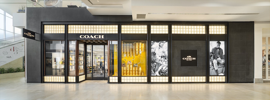 New Yorkdale storefront. Photo: Coach