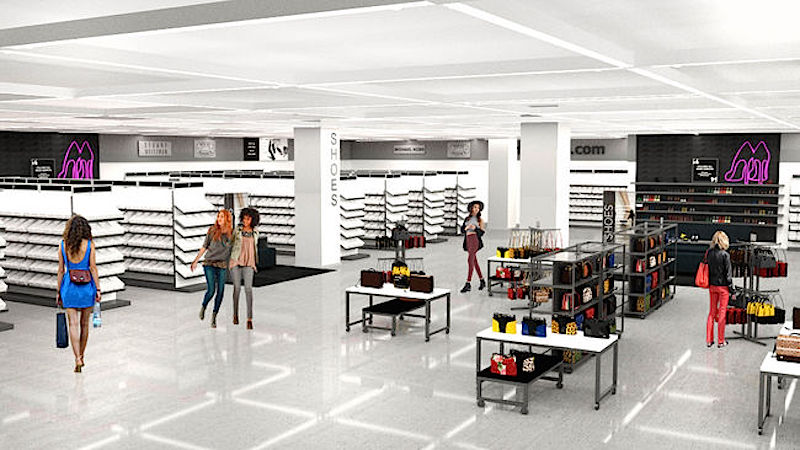 Rendering via Hudson's Bay Company/Saks Fifth Avenue