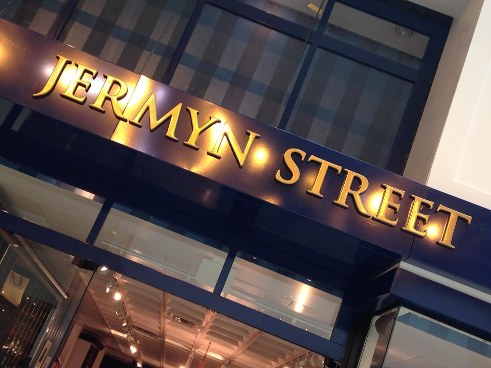 Photo: Jermyn Street 1664, via Twitter
