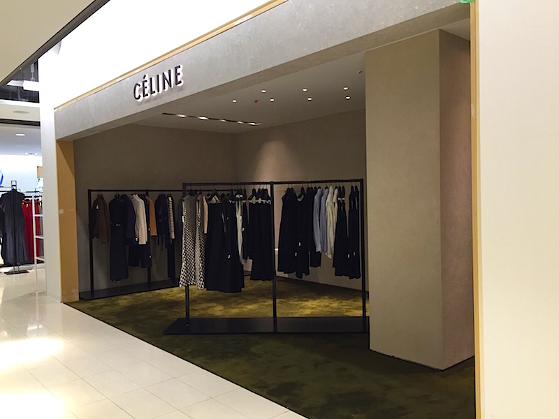 Céline women's ready-to-wear boutique on 2 in Vancouver. Photo: William Connor