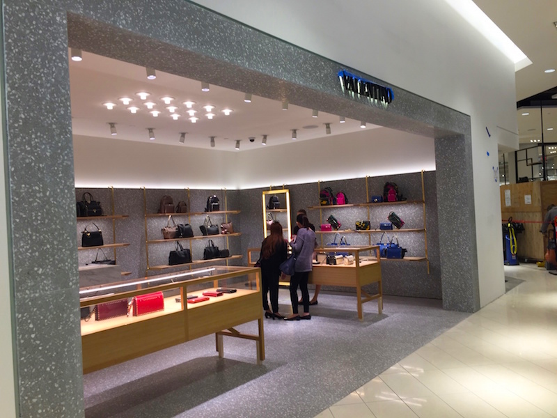 Valentino Accessories, Ground Floor, Nordstrom Vancouver. Photo: William Connor