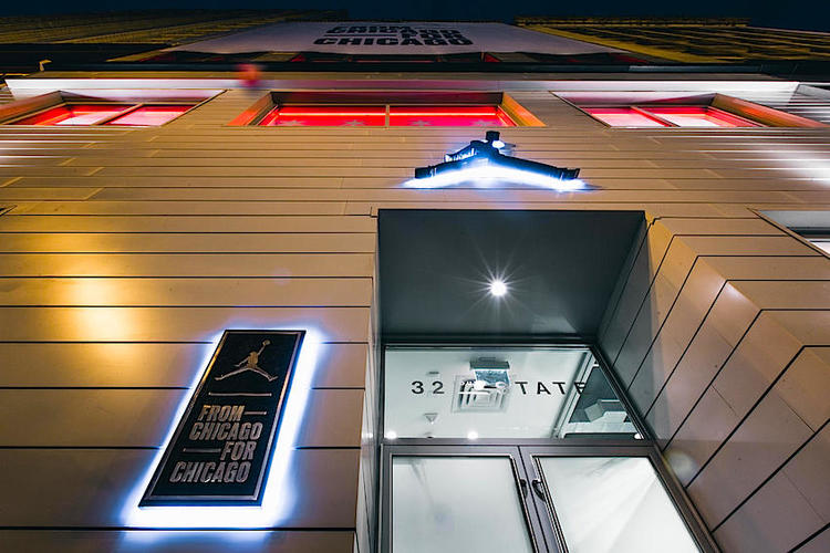 nike plans to open its new michael jordan brand concept store in canada following the launch last we