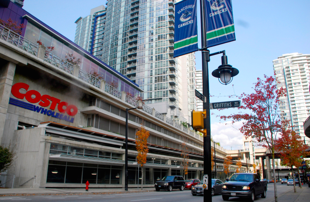 Costco in downtown Vancouver. Photo:  Flickr