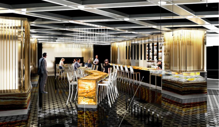 Restaurant rendering: GH+A