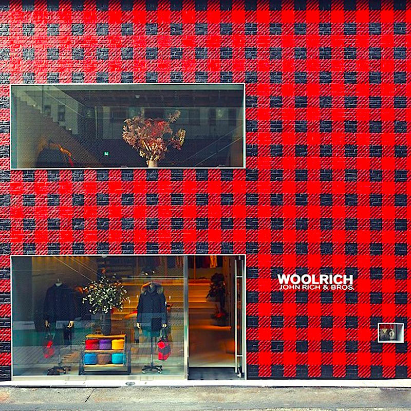 Tokyo flagship. Photo: Woolrich