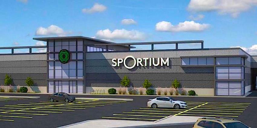 Rendering: Sportium