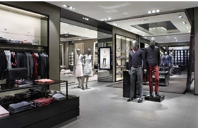 CF Pacific Centre, Vancouver. Photo: Hugo Boss Canada