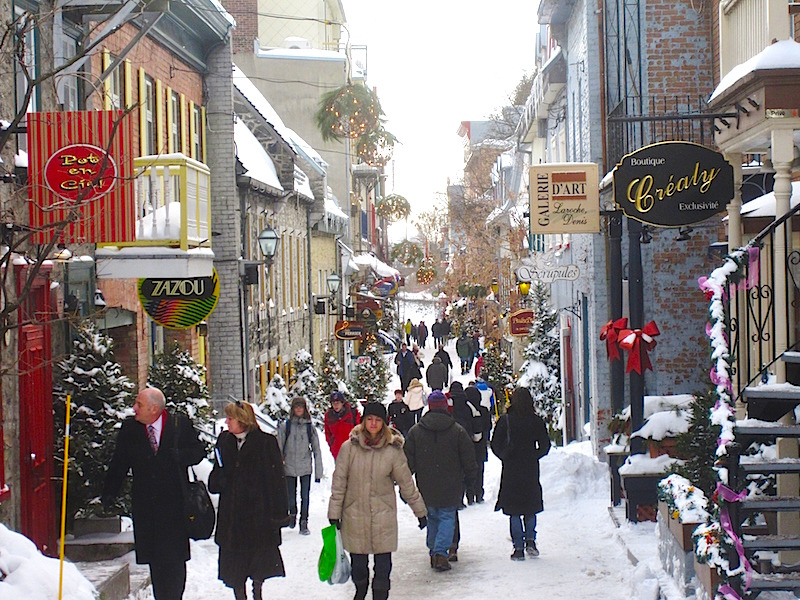 Quebec City. Photo: wakeandwander.com