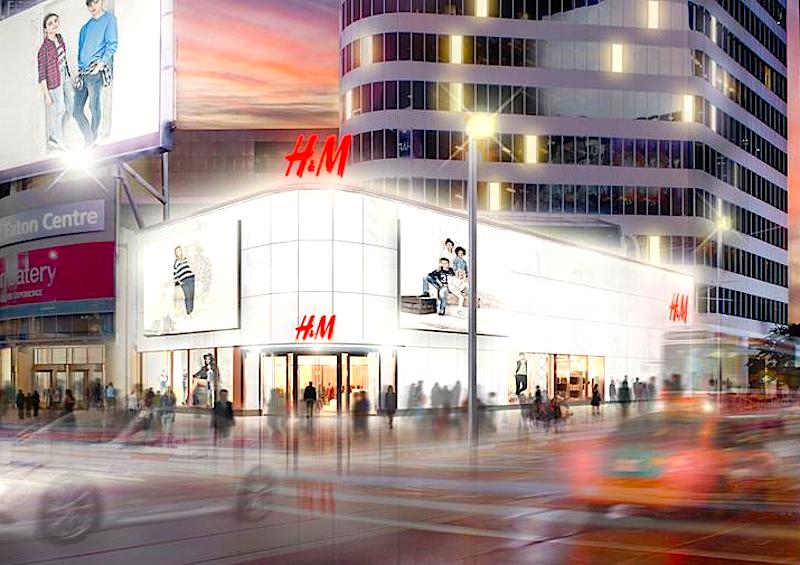 Rendering: H&M