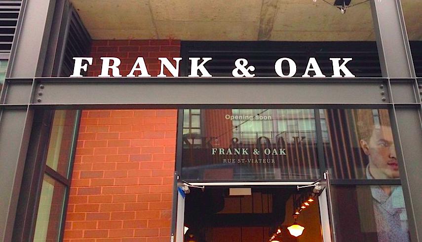 Photo: Frank & Oak