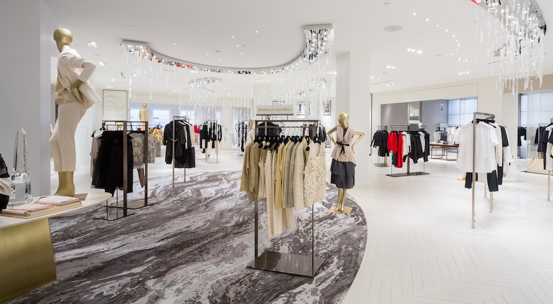 Women's designer floor on 3. Photo: Saks