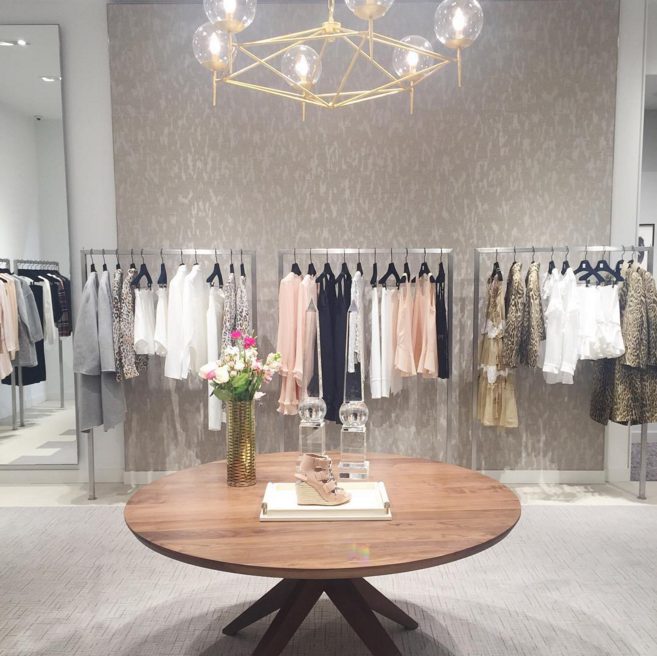 Chloé ready-to-wear shop-in-store. Photo: asideofvogue via Instagram