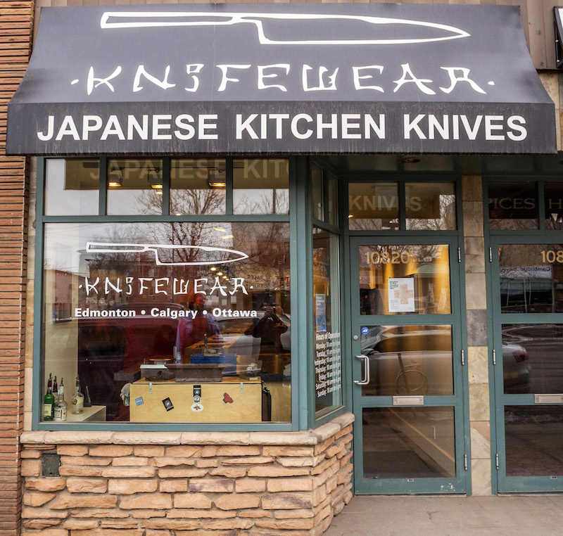 Edmonton Store. Photo: Knifewear