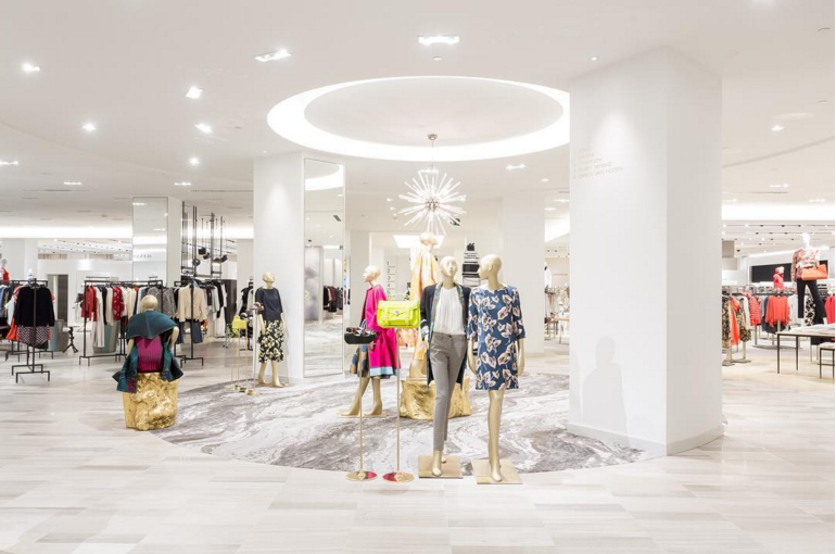 Women's designer salon. Photo: Saks