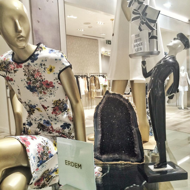 Women's Designer salon, featuring designer Erdem, originally from Montreal. Photo: Saks