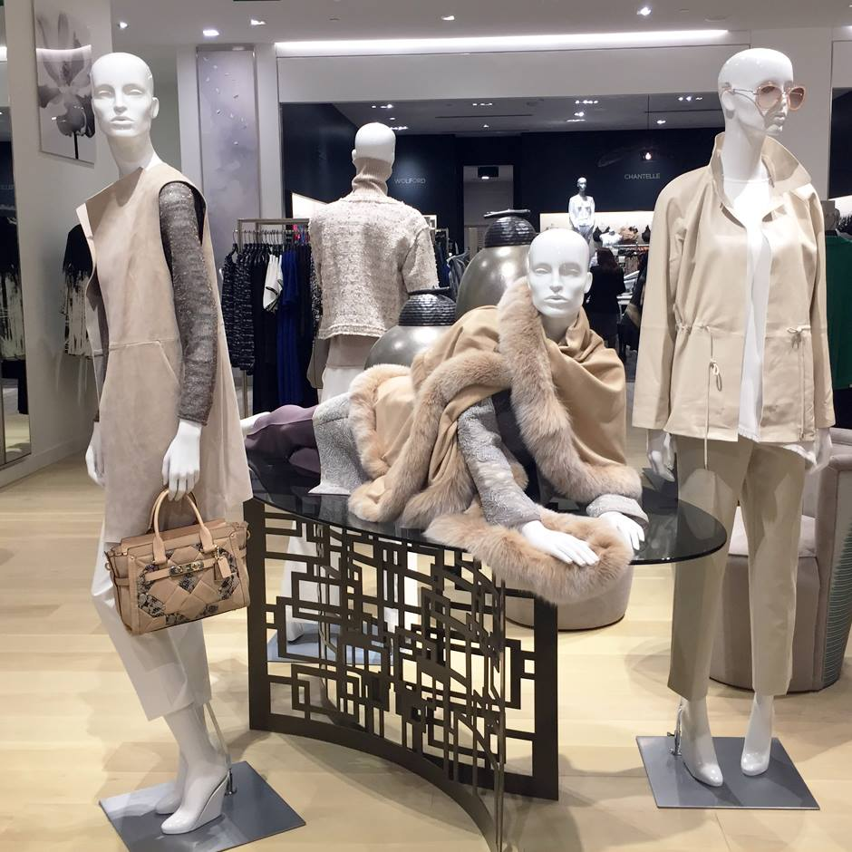 Women's ready-to-wear, with Lingerie in behind. Photo: CF Sherway Gardens