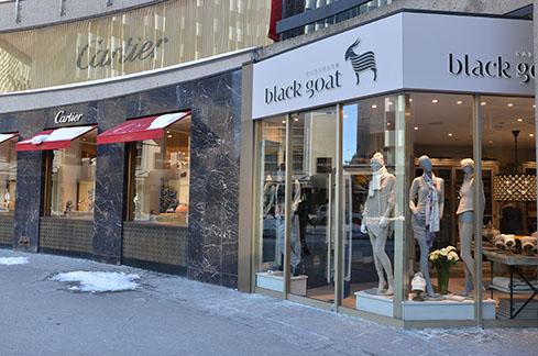 Toronto Store. Photo: Black Goat Cashmere