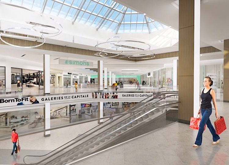 Mall Rendering: Supplied
