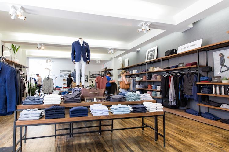 Toronto store. Photo: Frank & Oak